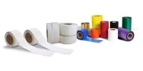 Étiquettes vierges pour imprimantes monochromes