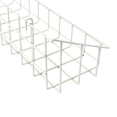 Steel wire display shelf basket for store and supermarket