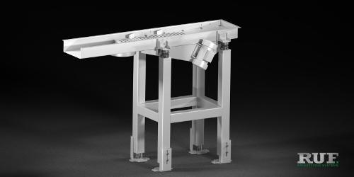 RUF Periphery: Oscillating conveyor channel