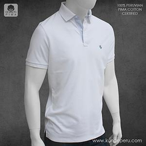 100% pima cotton polo shirt