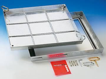 BV steel galvanised sealed cover