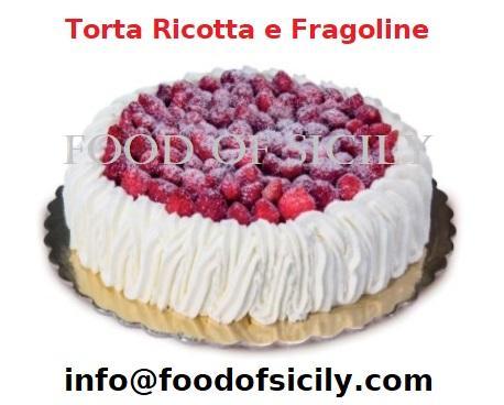 Torta Ricotta e Fragoline