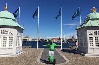 1- eller 2-timers Segway tur i København