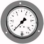 Standard pressure gauge, front ring, G 1/4, 0 - 40 bar, 63