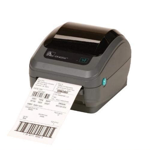 Imprimante ZEBRA étiquettes, badges cartonnés