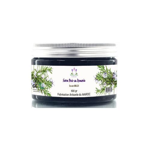 Savon Noir Artisanal Au Romarin (savon Beldi) 100 Gr