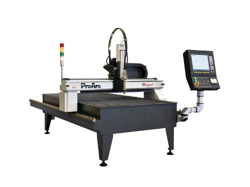 Compact CNC plasma cutter, Oxygen (flame) cutting machine.