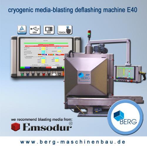 E40 kryogene Strahlentgratungsanlage