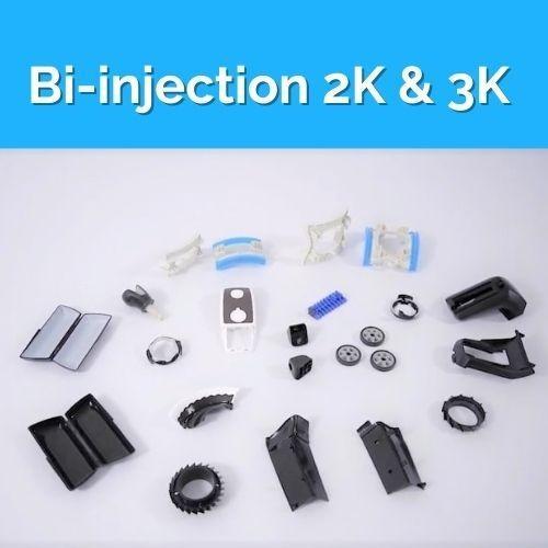 Molds for Bi-injection 2K & 3K Parts