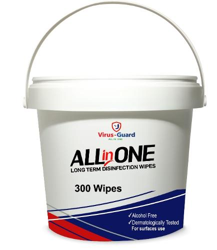 300 Toallitas Desinfectantes