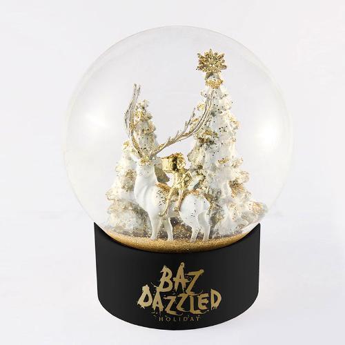Snow globe boule à neige ronde en verre