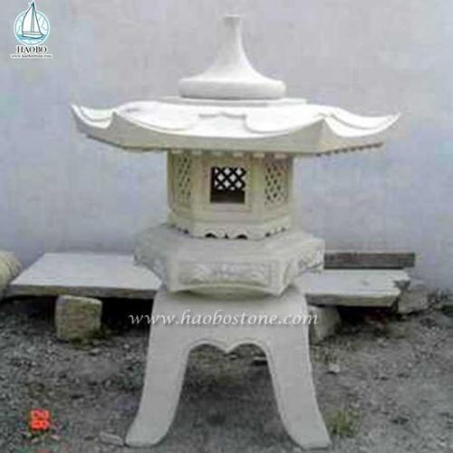 Japanese Style Granite Garden Stone Lantern