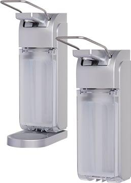 Universal Arm Lever Dispenser, silver
