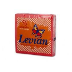 Servilleta LEVIAN 40X40 ROJO