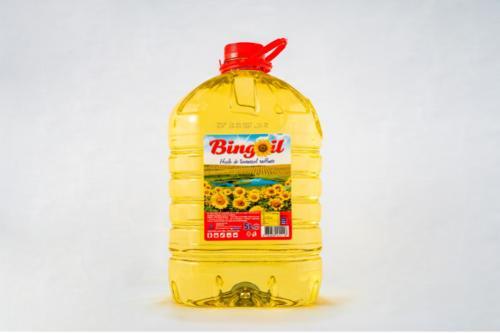 Huile de tournesol 100% raffiné 5L - BINGOIL