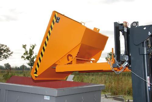 Kippbehälter Typ EXPO, Anbaugerät für Gabelstapler