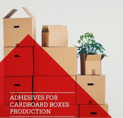 Adhesive For Cardboard Boxes Production