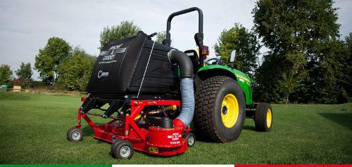Mow & Carry®: Full Service Compact Mower