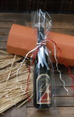 250 Stück Foliengeschenkbeutel Rotwein