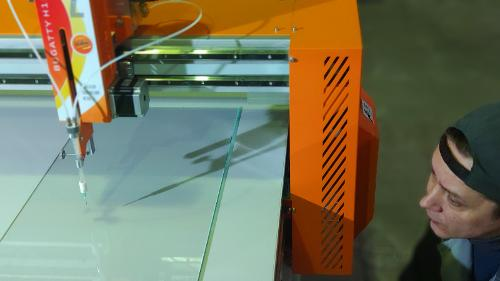 Service and support CNC machine