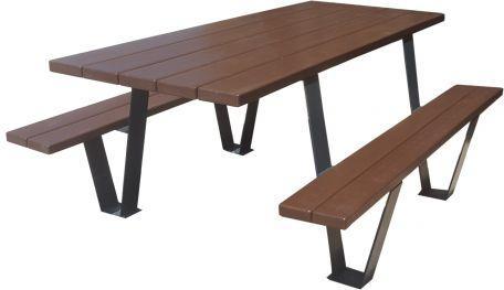 Table De Pique Nique Plastique Recyclé Style