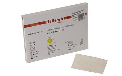 Helisorb Sheet - BIO-ABSORBABLE FISH COLLAGEN PATCH