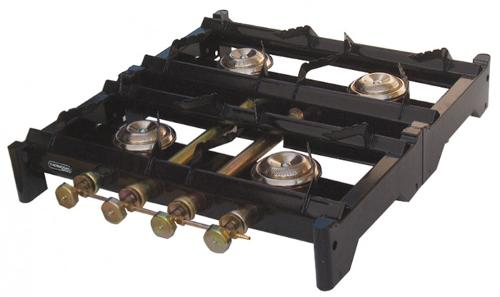 Professional gas cooker