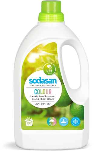 Sodasan Laundry Liquid Colour Lime