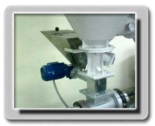 Шнековый дозатор красителя для экструдера