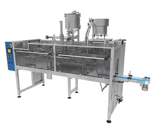 """Automatic Machine ADM for Packing in """"DOYPACK"""" Pouches"""
