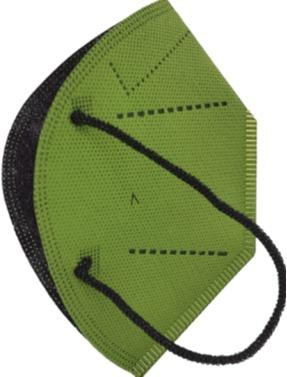 Hygienic Mask Plus Reusable MILITARY GREEN