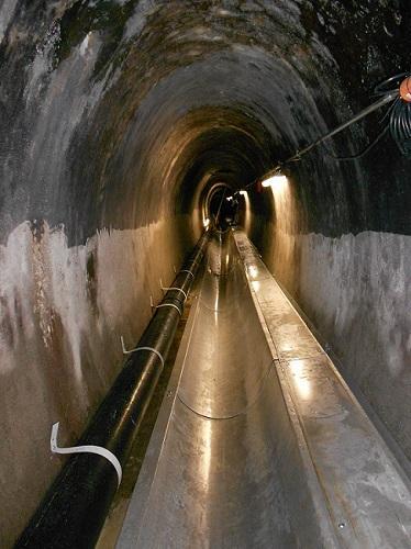 Abwasserwärmenutzung im Abwasserkanal, Kanalisation
