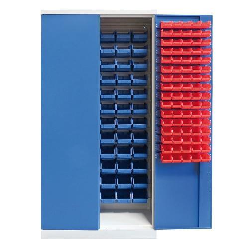 Armoire bac a bec - 232 bacs suspendus