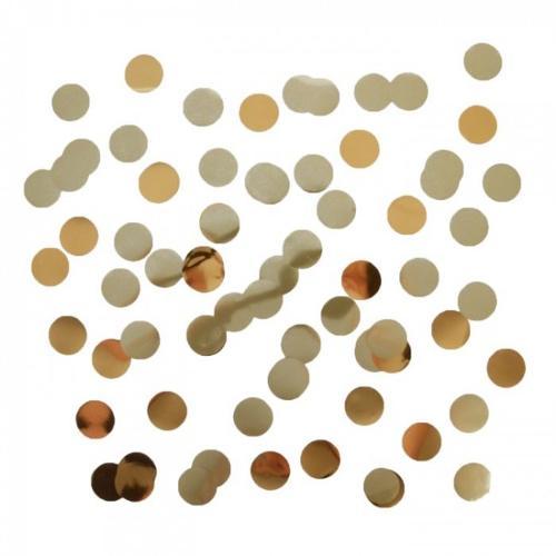 Confetti Metallic Goud