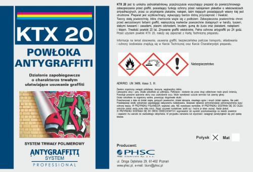 KTX 20 Powłoka Antygraffiti