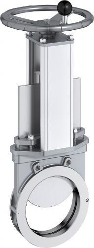 Vannes guillotine type XV