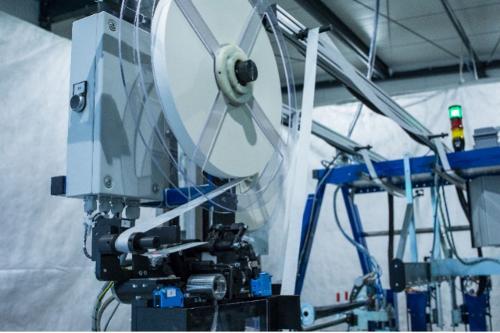 Applicateur séquentiel Enpro de papier siliconé