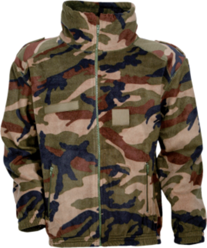 Blouson Polaire Army Camo