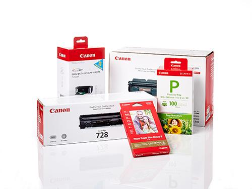 Original Canon supplies and spare parts