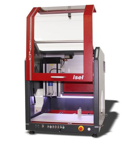SERIES ICP CNC-MILLING MACHINE (STEP)
