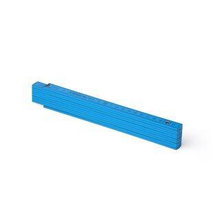 Zollstock Metrie Block 52 - 2m dunkelblau (PAN ProcessBlue)