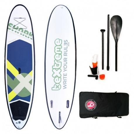 Tabla Paddle Surf Hinchable BeXtreme Shark