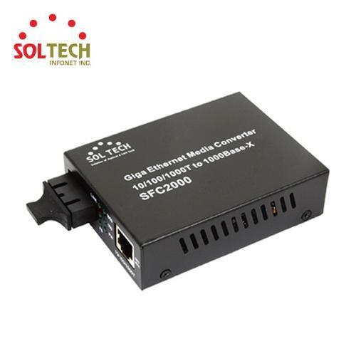 Gigabit Ethernet Converter SC type Single/Multi mode Fiber