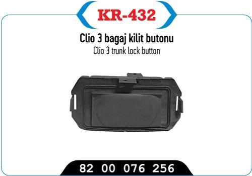 clıo 3 baggage lock button