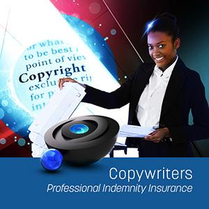 Professional Indemnity Insurance for Copywriters
