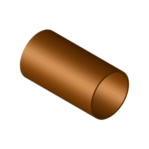 Pipe, copper-nickel acc. to DIN 86019, CuNi10Fe1,6Mn