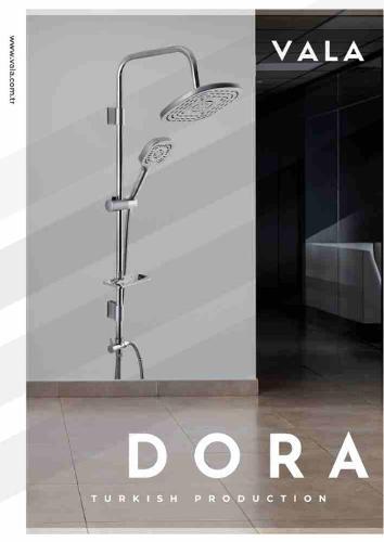 DORA GREY SHOWER COLUMN
