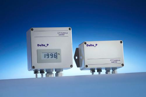 Differential pressure transmitter PU/PI/PIZ