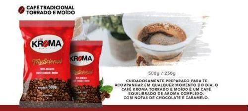 Café Kroma Tradicional Torrado e Moido
