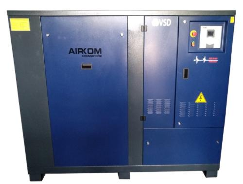 Inverter Driven Direct Coupled 110 Kw Air compressor